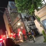焼肉 平和園東銀座店が火災