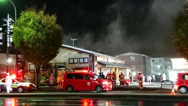 ハニーポット 石川県金沢市田上町のパン屋で火災