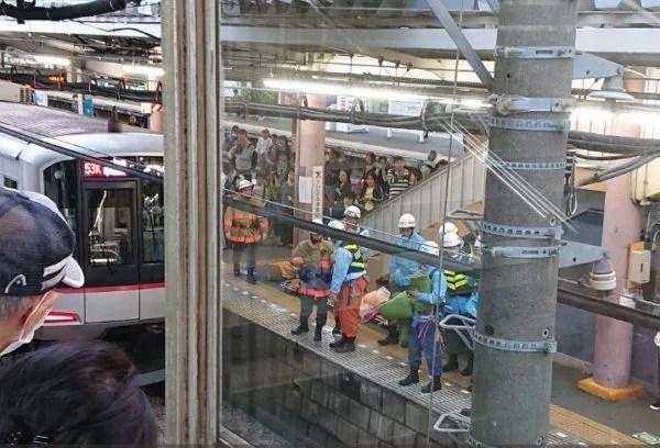 清瀬駅で人身事故