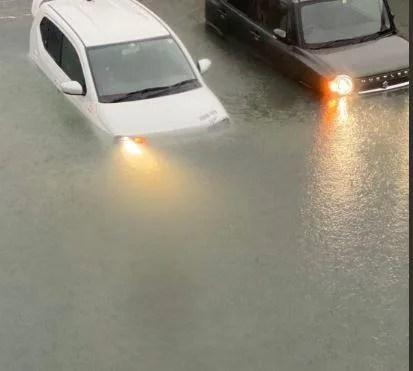静岡市駿河区や狩野川が豪雨で冠水