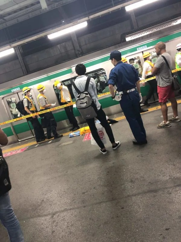 赤羽駅で人身事故