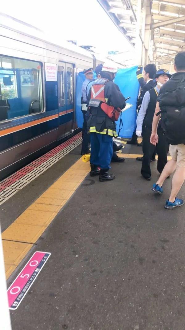 学研都市線 住道駅で人身事故