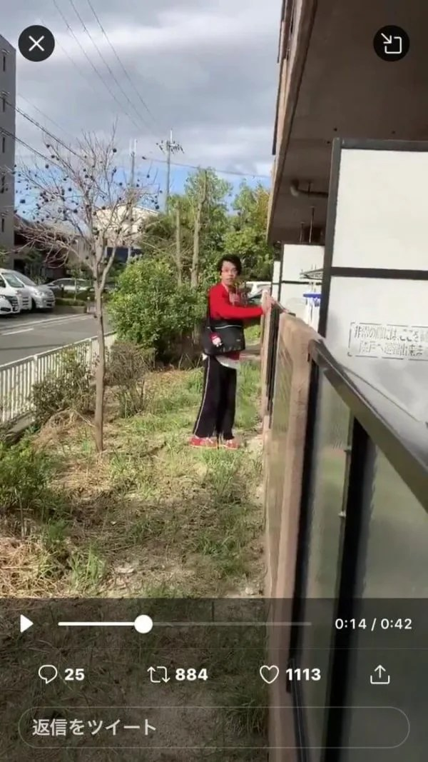 大阪府茨木市で下着泥棒