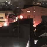 埼玉県草加市旭町2丁目で火事