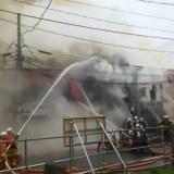 福島県郡山市駅前2丁目で火事