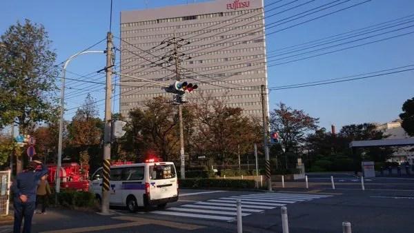 富士通川崎工場 火事 2019年11月9日