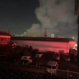 カネカ大阪工場で火事 11月3日
