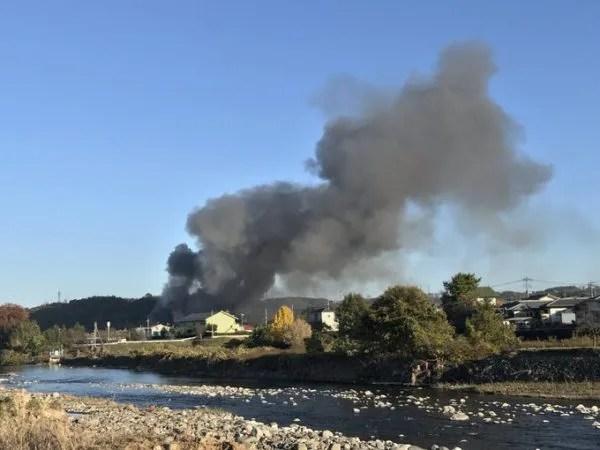 群馬県安中市 火事 2019年11月19日
