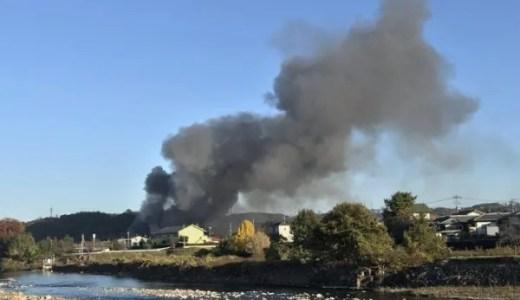 群馬県安中市で火事が今日発生 原因は何故?Twitter速報画像11月19日