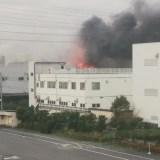 日本金属株式会社 板橋工場 火事 2019年11月19日