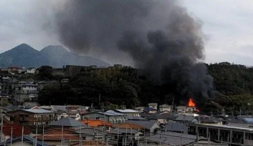 福岡県福岡市東区和白5丁目で火事が発生 速報画像2019年12月14日