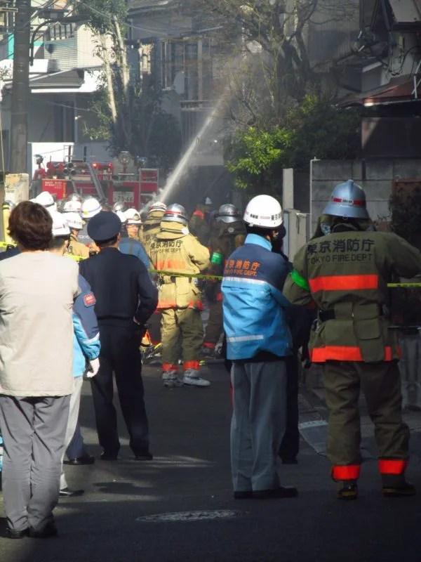 東京都新宿区西新宿4丁目 火事 2020年1月10日