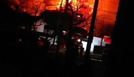 山口県防府市三田尻3丁目で火事 速報動画・画像2020年1月12日