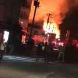 福島県いわき市内郷宮町金坂 火事 2020年1月12日
