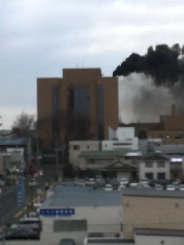 市立秋田総合病院 火事 2020年1月22日