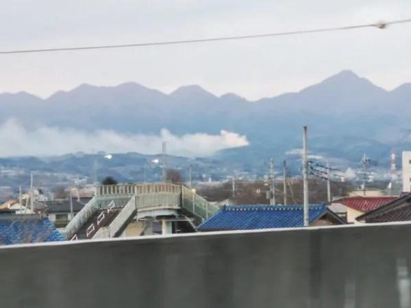 群馬県高崎市箕郷町松之沢付近 火事 2020年1月20日