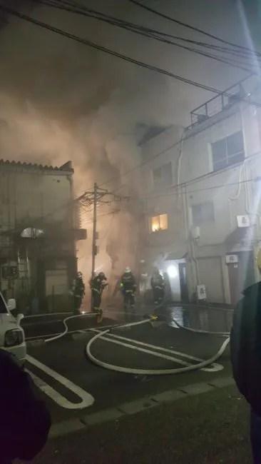 焼肉天晴れ精肉店 火事 2020年1月27日