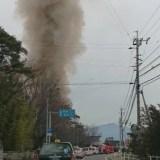長野県松本市大字新村 火事 2020年1月27日