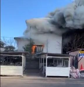 埼玉県岩槻区本町6丁目付近で火事 原因は?速報動画・画像2020年2月12日