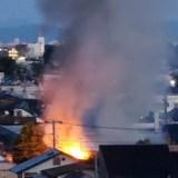 静岡県静岡市葵区長沼 火事 2020年6月20日