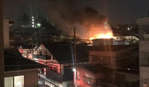 神奈川県横浜市西区浅間町3丁目で火事 原因は?速報動画・画像2020年6月18日