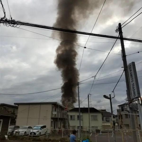 東京都 八王子市 暁町 火事