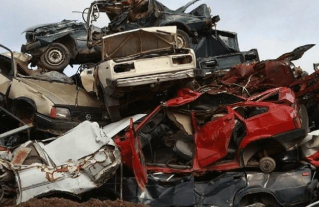 Полицейские Кочубеевского района задержали злоумышленников, сдавших на металлолом два чужих автомобиля