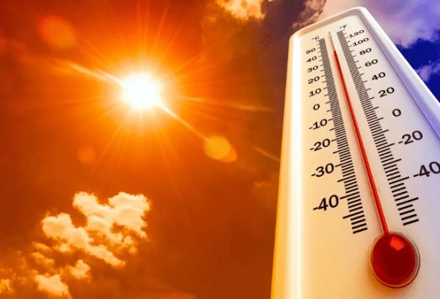 Местами по краю столбики термометра поднимутся до отметки +40°