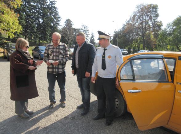 В Пятигорске прошла акция Ребенок в такси