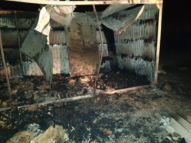 4 человека погибли во время пожара на территории хозпостройки на Кубани