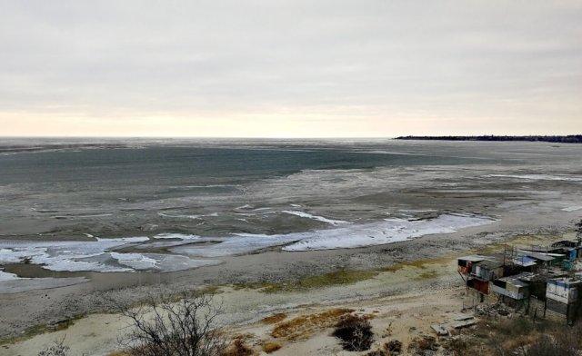 Вода из Азовского моря начинает возвращаться в Таганрогский залив