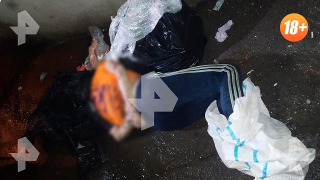 Тело женщины с пакетом на голове нашли вблизи многоэтажек в Москве