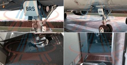 Самолет при посадке в Анталии пробил шасси корпус