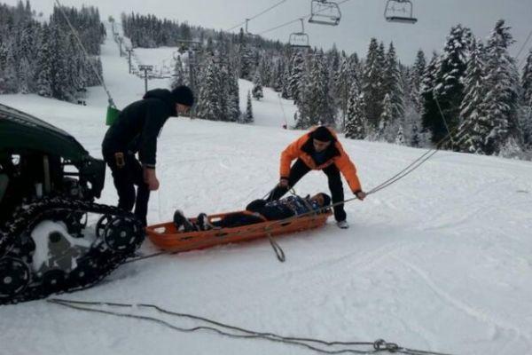 Лыжник погиб от потери крови на трассе в Кузбассе