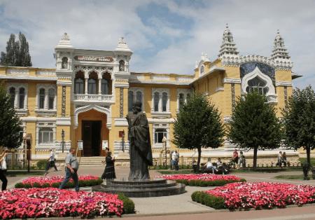 130 тысяч «анютиных глазок» украсят Кисловодск предстоящей весной