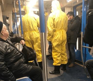 Московский метрополитен обратится в полицию после пранка с кашляющими китайцами в вагоне