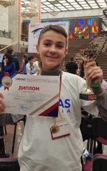 Вице-чемпион мира по ментальной арифметике из Кисловодска занял второе место на чемпионате России