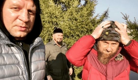 Кадыров начал тренироваться с Емельяненко для совместного боя