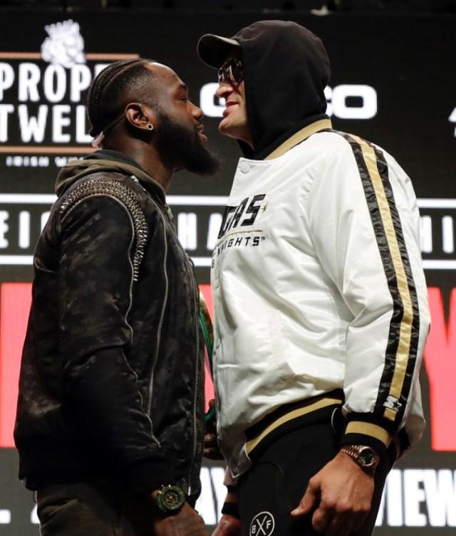 В Лас-Вегасе взвесили Уайлдера и Фьюри перед встречей на ринге