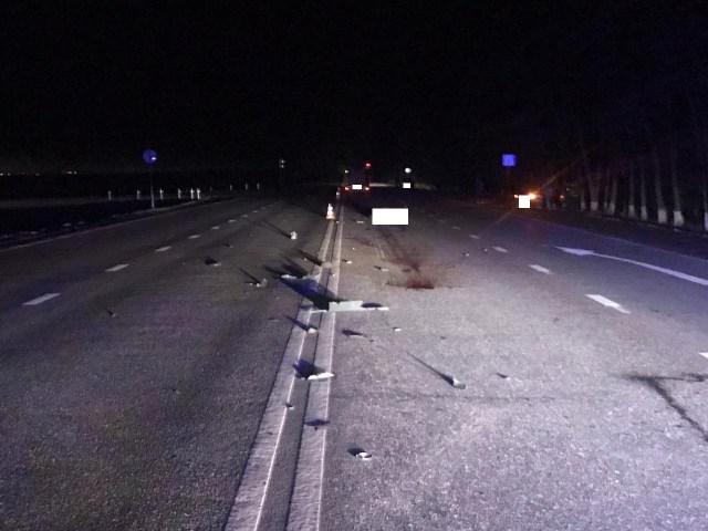 Три машины проехались по мертвому пешеходу вблизи Георгиевска