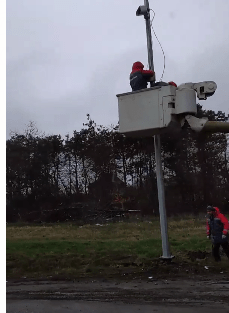 После недавней трагедии на дороге около Минвод начали устанавливать камеру