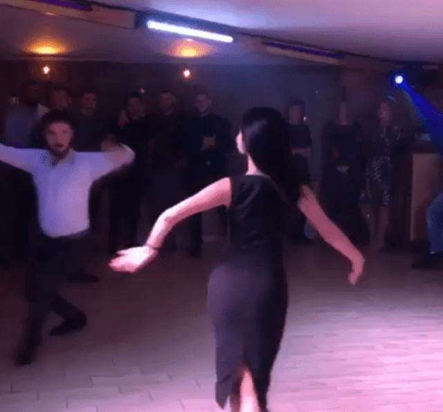 Парень с девушкой «зажгли» танцпол горячим танцем в Северной Осетии