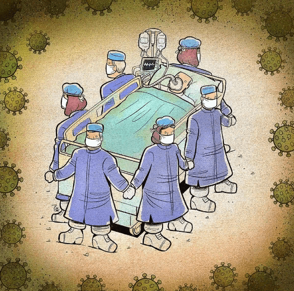 Простые рисунки как лекарство от эпидемии