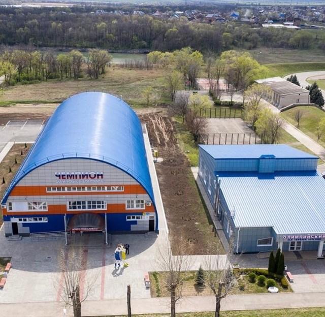 В Солнечнодольске построили новый спортивный комплекс