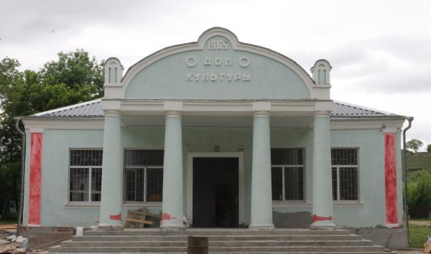 Ремонт в ДК Аликоновка в Кисловодске