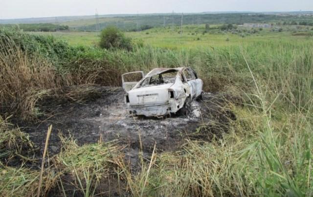Ставрополец сжёг угнанный автомобиль