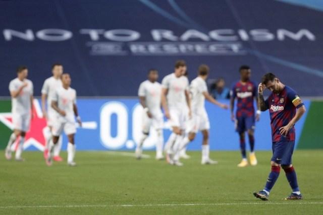 Унизительное поражение потерпела «Барселона» в «Лиге Чемпионов»