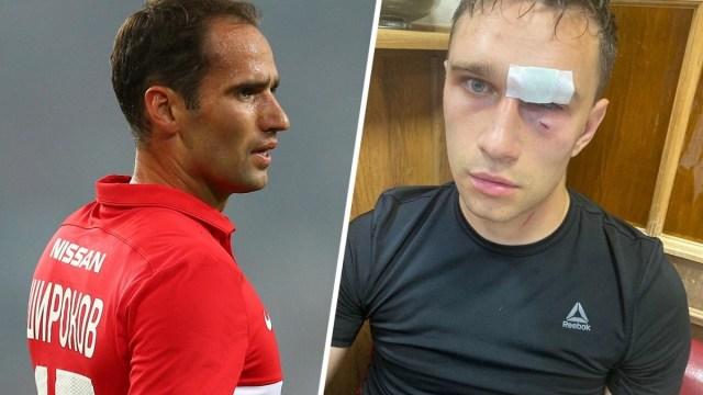 На футболиста Романа Широкова за избиение судьи завели дело