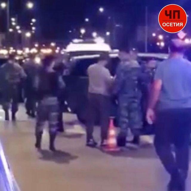 20 человек устроили мордобой со стрельбой в пригороде Владикавказа