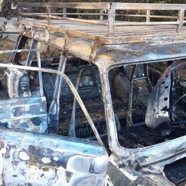 Машину члена азербайджанской общины сожгли в Пятигорске